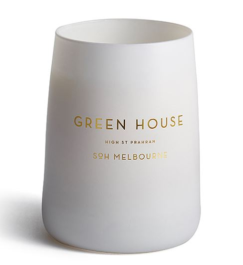 SoH Candle – White Matte Greenhouse
