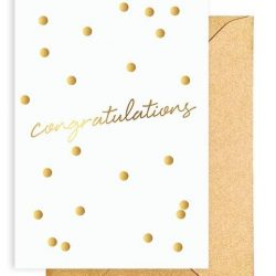 Greeting Card – CONGRATULATIONS CONFETTI