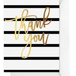 Greeting Card – THANK YOU STRIPE